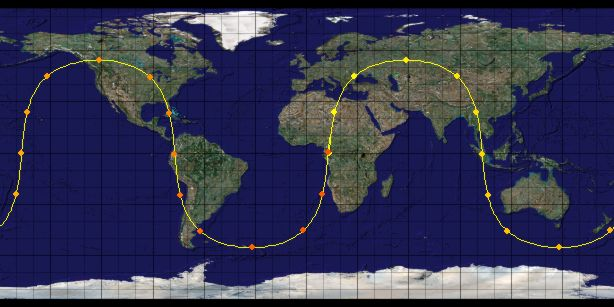 The Altidude Of Each Of The  Space Vehicles Providing The Gps Signal Is  Km